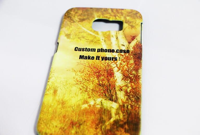 Exemple d'impression pour petite imprimante UV A2 D4880UV - Phonecase