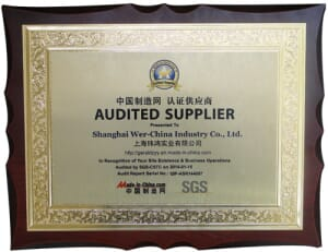 Assessed Supplier by Made-in-China Corporation