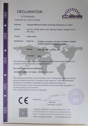 CE Certificates1