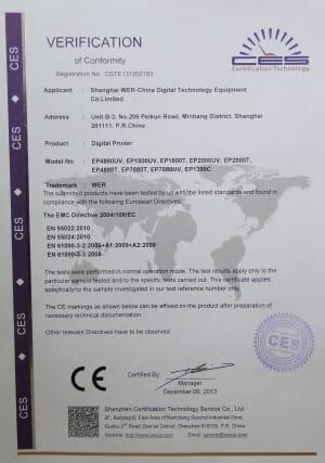 CE Certificates2