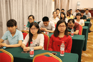 Group meeting in Wanxuan Garden Hotel 2, 2015