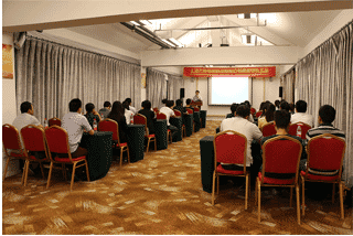 Group meeting in Wanxuan Garden Hotel, 2015
