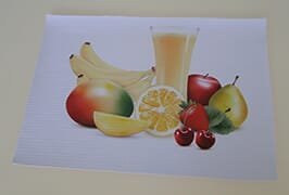 PVC banner printed by 3.2m (10 feet) eco solvent printer WER-ES3201
