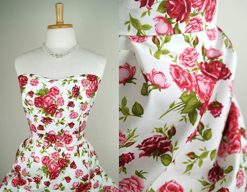 Rose-printed-cotton