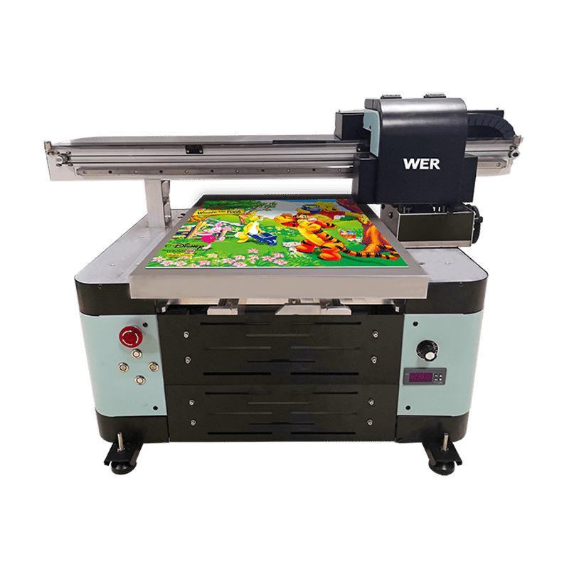 WER-ED4060UV flatbed uv printer1