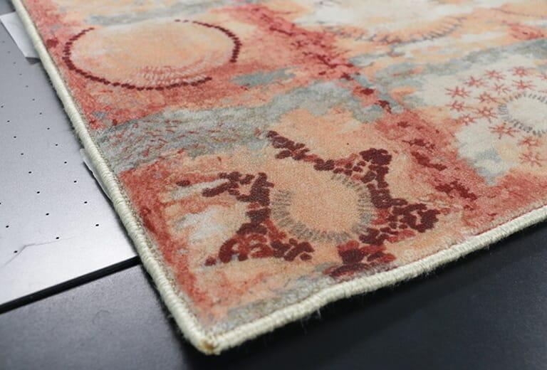 Muestra de impresión de la impresora WER G2513UV - alfombra 1