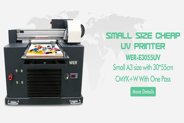 E3055UV flatbed uv printer