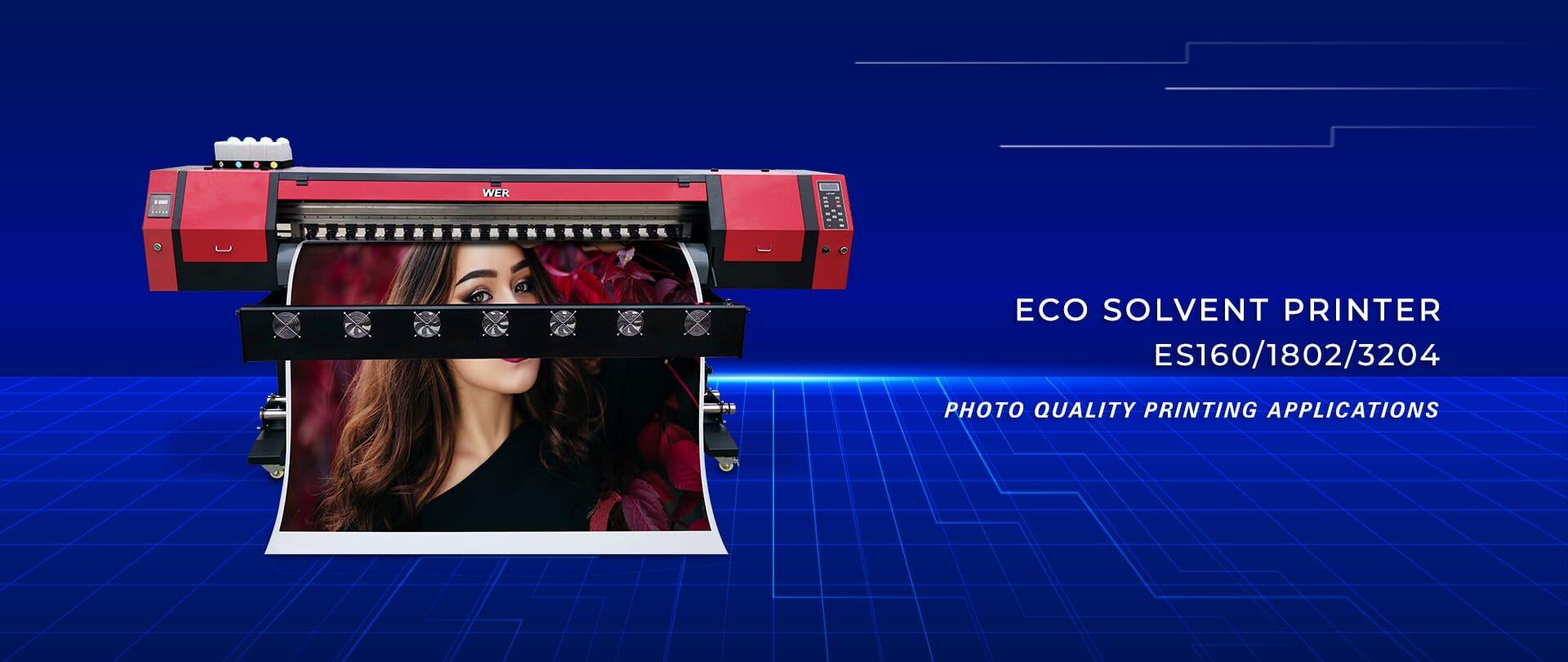 6ft WER-ES1802 Canvas Prints Eco Solvent Printer