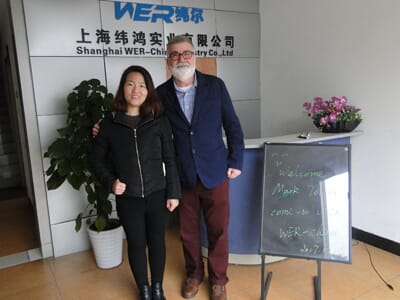 Client from USA Mr Mark Towne come to visit WER-CHINA on 15thDec. 2017 to check different kinds of printing machines and talk about Customized business