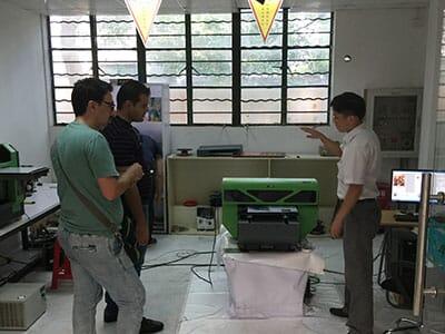 Iran agent for checking a2 uv printer