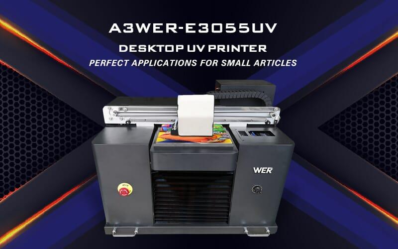 A3 WER-E3055UV DESKTOP UV PRINTER